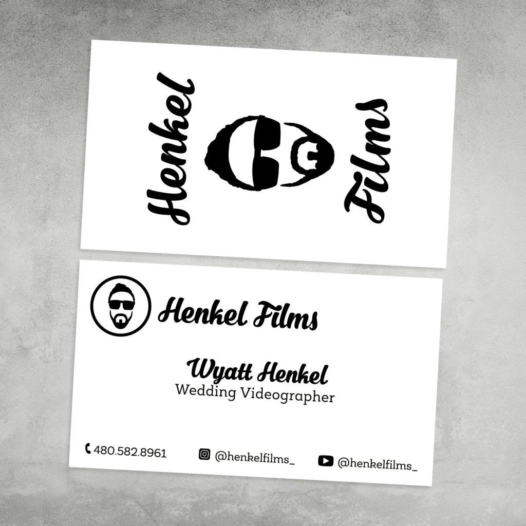 Henkel Films Videography Logo Design, Gilbert, Arizona, Graphic Design