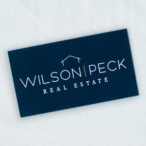 Wilson Peck Real Estate Graphic Design, Brand Design