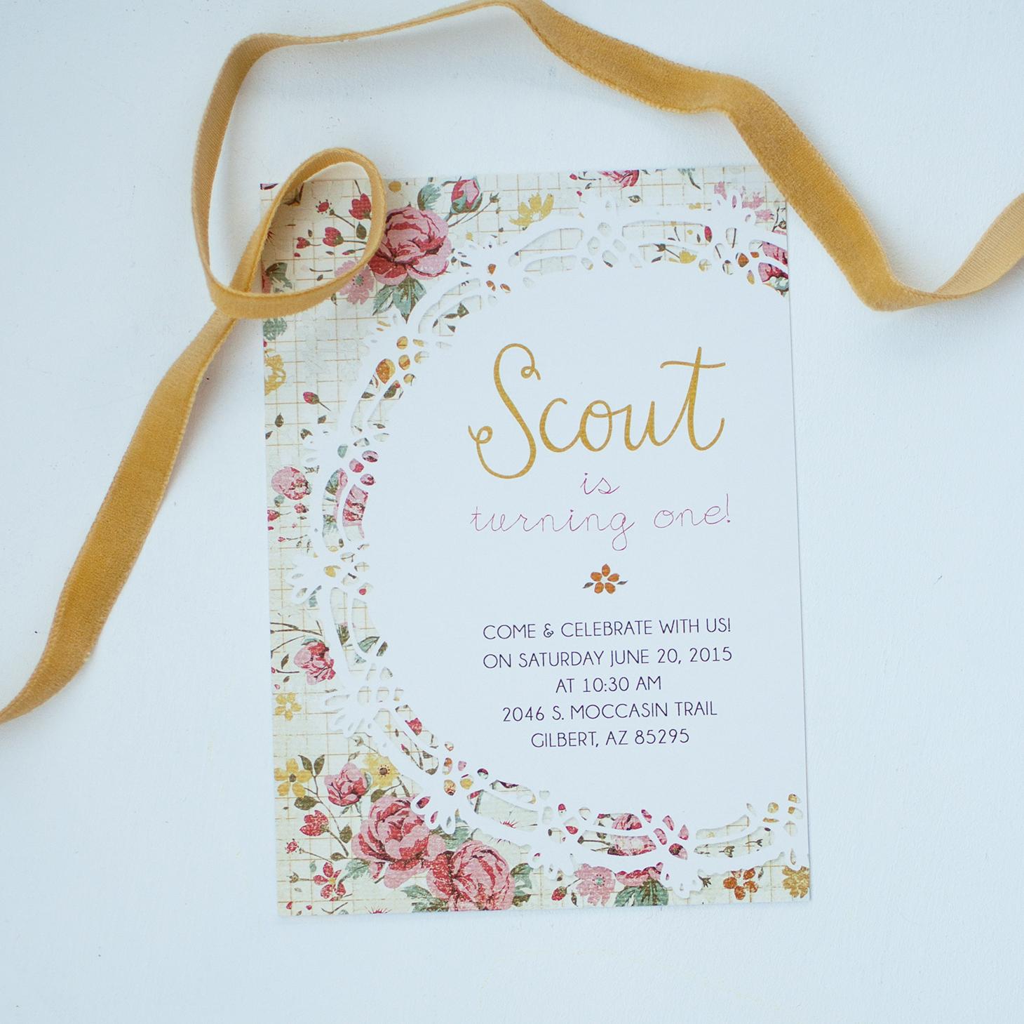 Sarah Garner Design, Graphic Design, Arizona, Print Design, Gilbert, Invitation Design, Invites